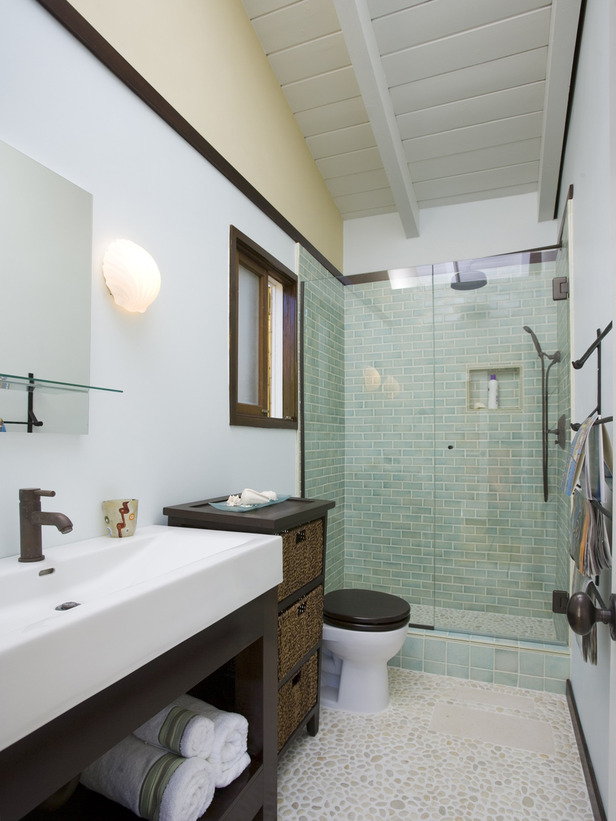 Design Ideas For Long Bathrooms ~ Banheiros decorados fotos