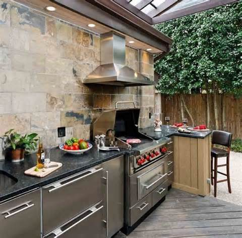Como decorar uma cozinha externa