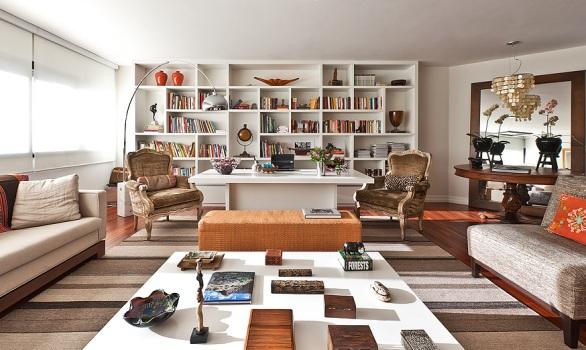 Home Office Em Sala De Estar ~ DICAS PARA MONTAR O Home office na sala de estar