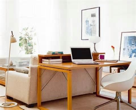 Home office na sala de estar 2