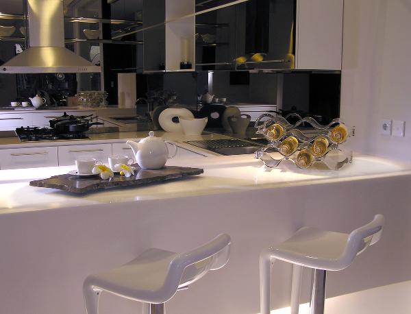 Bancada na cozinha 5