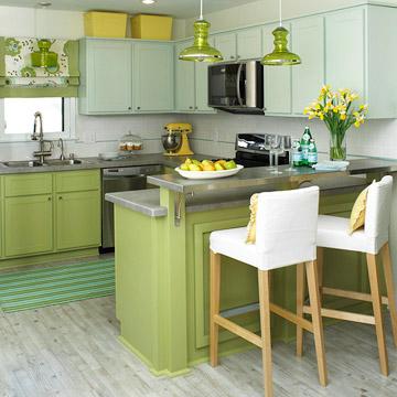 Como decorar a cozinha pequena 7