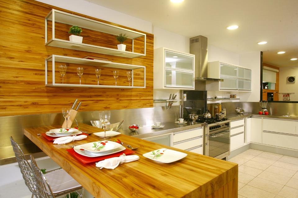 Cozinha decorada