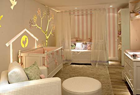 Quarto de casal com quarto de bebê 2