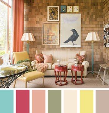 Paleta de cores na decoração 7