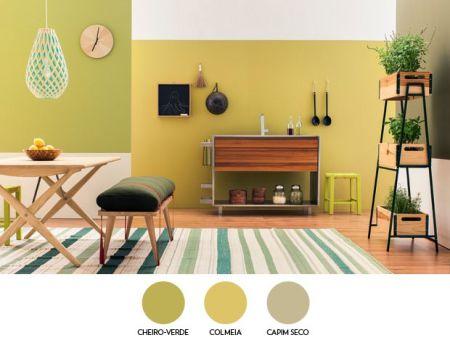 Paleta de cores na decoração 8