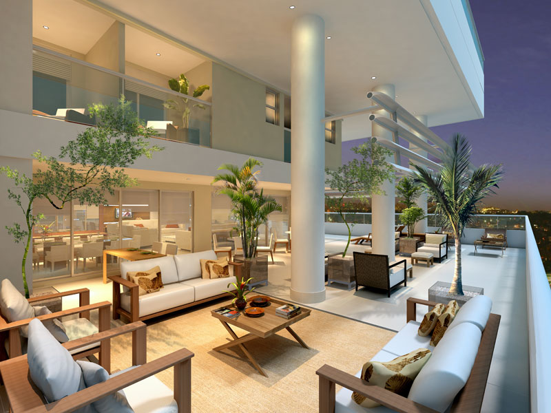 Apartamentos de luxo 4