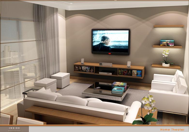 Sala De Estar E Sala De Tv ~ Como escolher a iluminação da sala de TV?