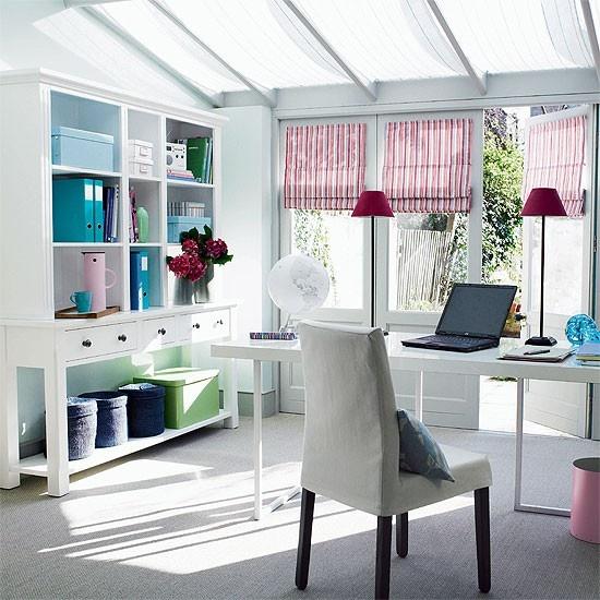 Home office confortável 5