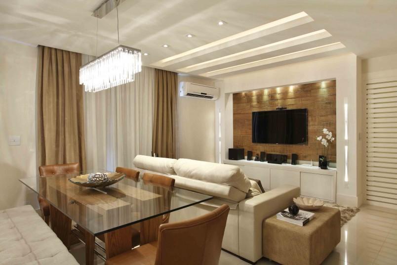 Iluminacao Para Sala De Estar E Tv ~ Como escolher a iluminação da sala de TV?