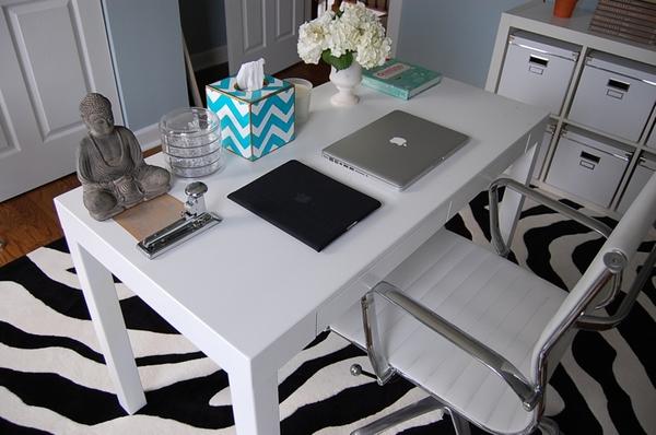 Home office confortável 6