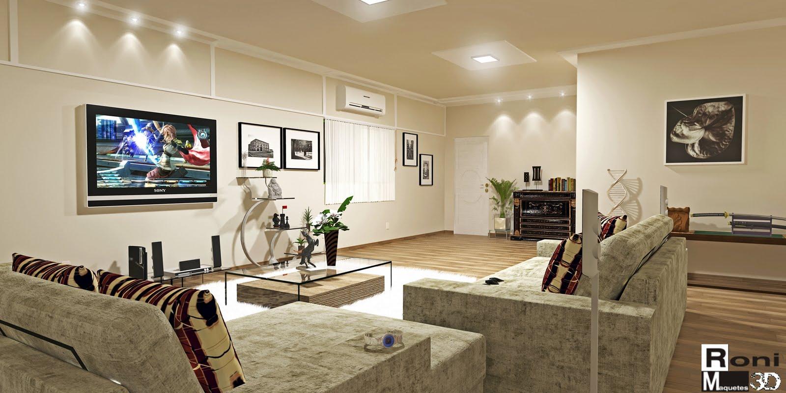 iluminação da sala de TV 7
