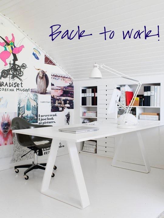 Home office confortável 8