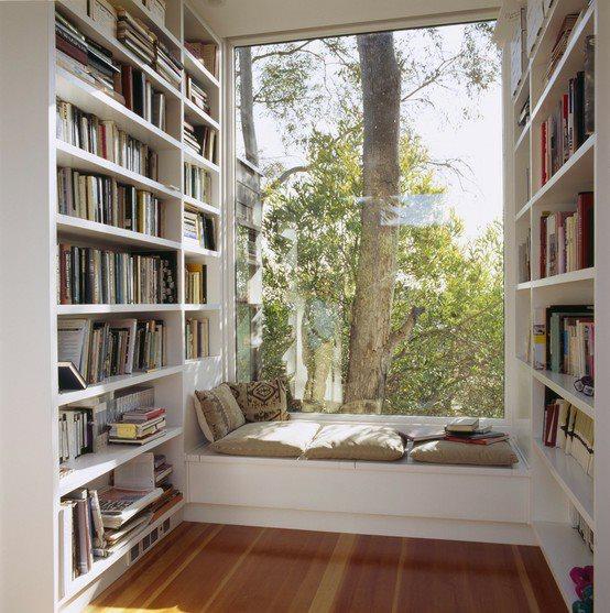 Decorar biblioteca em casa 2