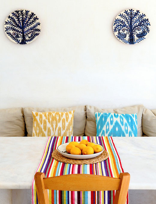 Decorar com estampa Ikat 2