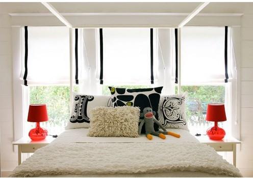 cama decorada e aconchegante 3