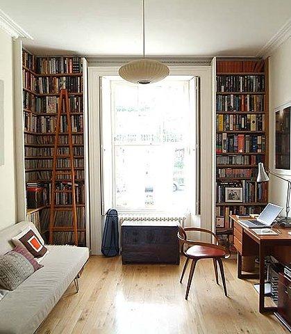 Decorar biblioteca em casa 3