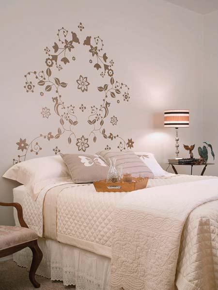 cama decorada e aconchegante 5