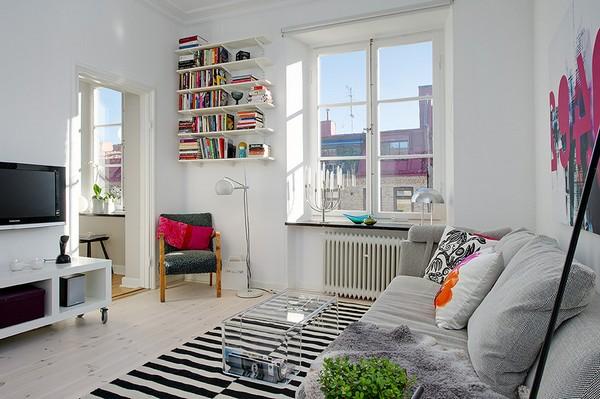 Decoração de apartamento alugado 6