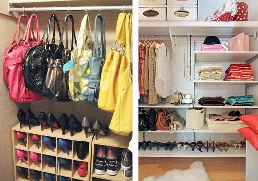 Como organizar o armário 6