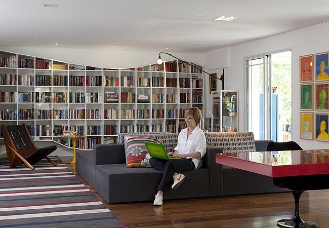 Decorar biblioteca em casa 6
