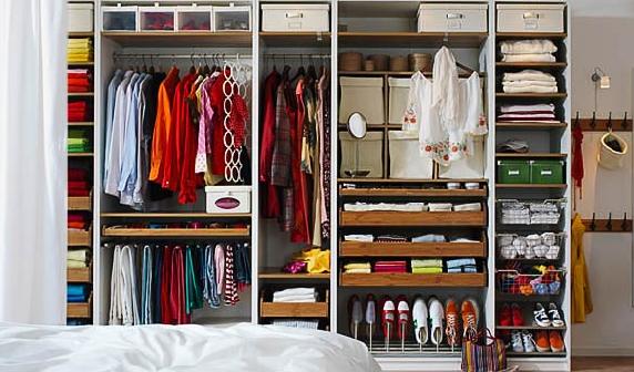 Como organizar o armário 8