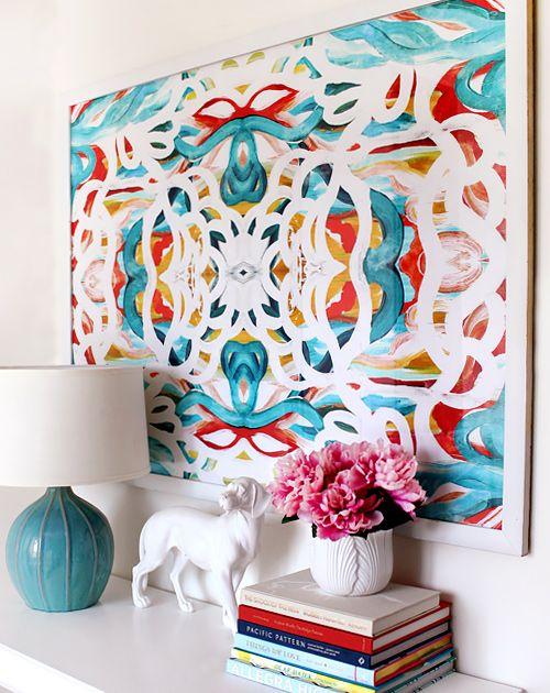 escolher as cores na decoração