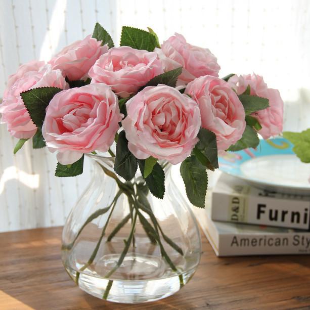 Flores artificiais na decoração 2