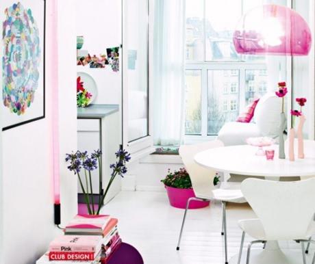 Decorar com cor de rosa 4