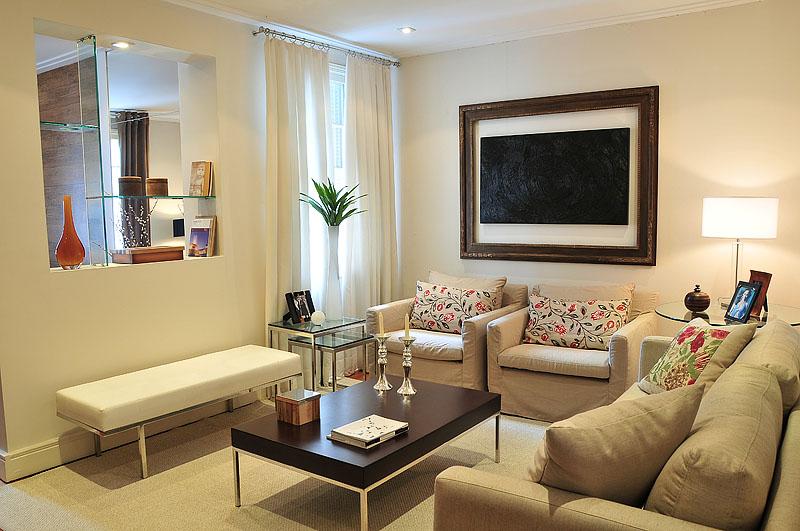 Dicas de decoraç u00e3o # Decoração De Interiores Salas Simples
