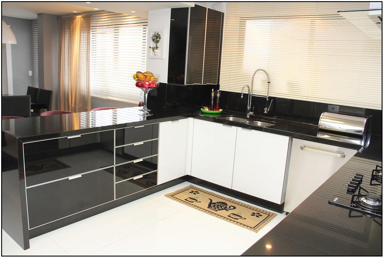 Cozinha em preto 6