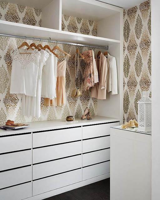 Papel de parede nos móveis 7