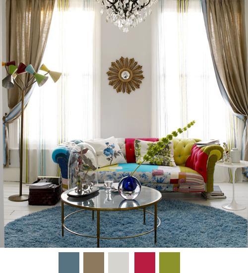 escolher as cores na decoração 8