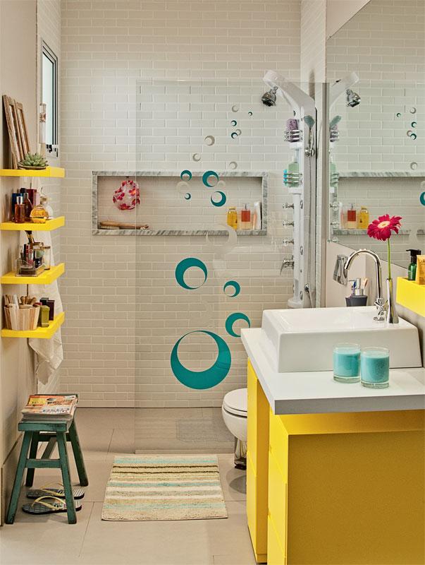 Banheiro decorado 8