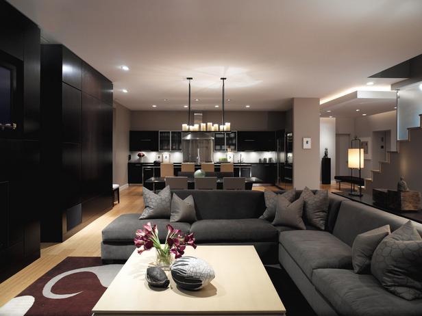Decoração da sala de estar 3