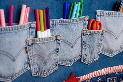 Jeans na decoração 4