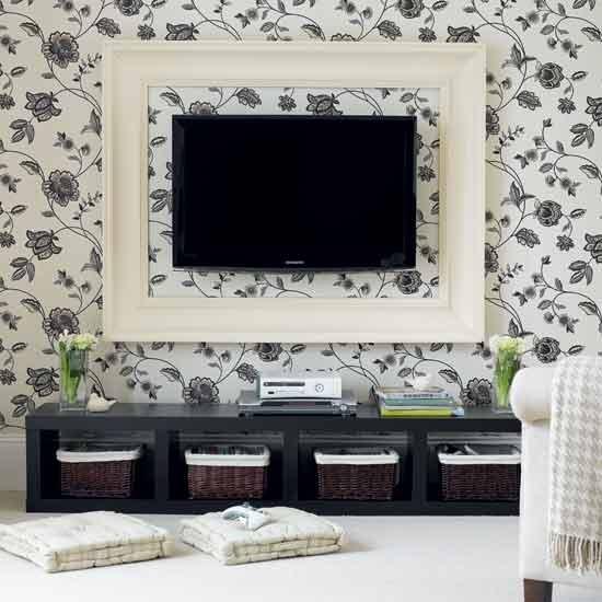 TV na decoração 2