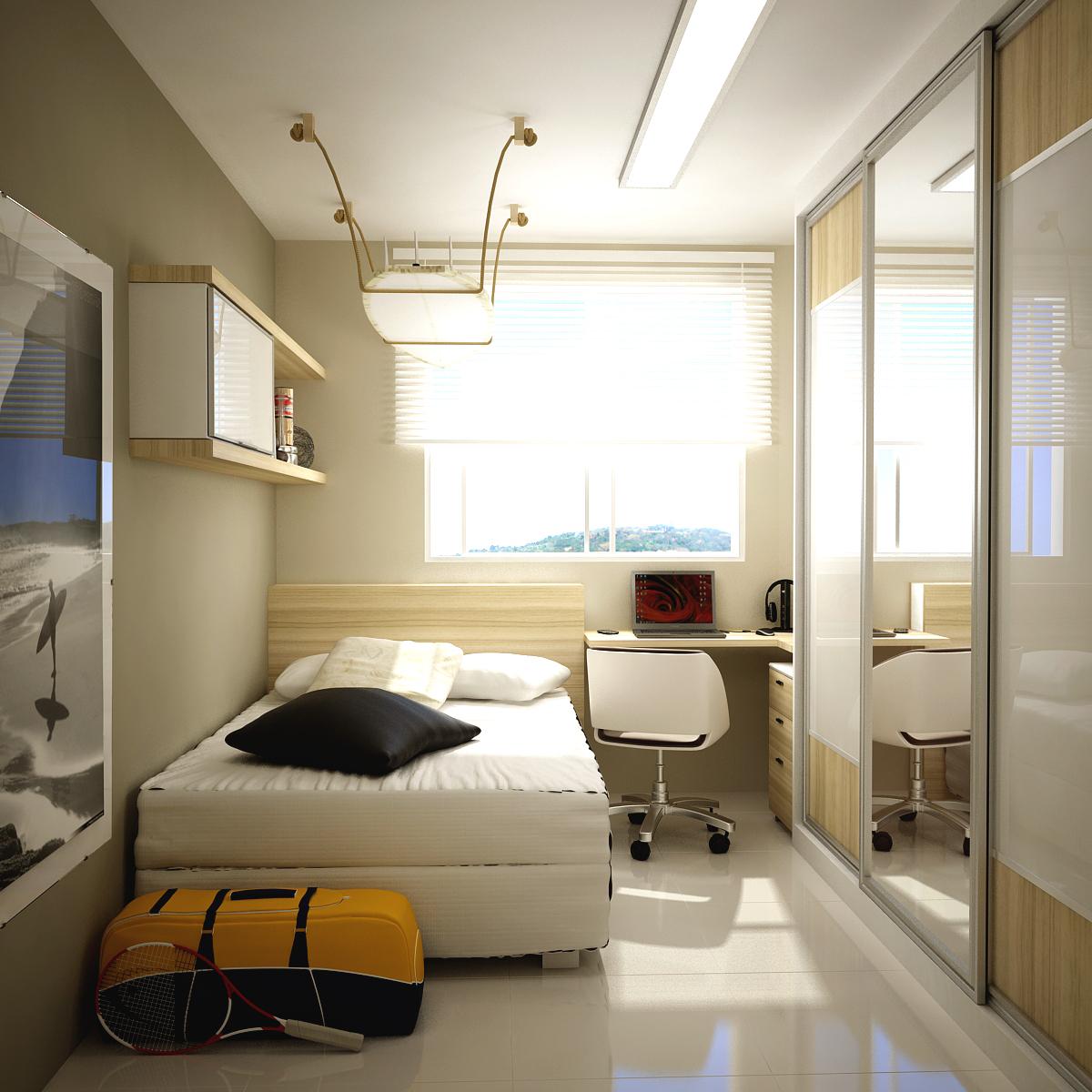 organização para quartos pequenos 2