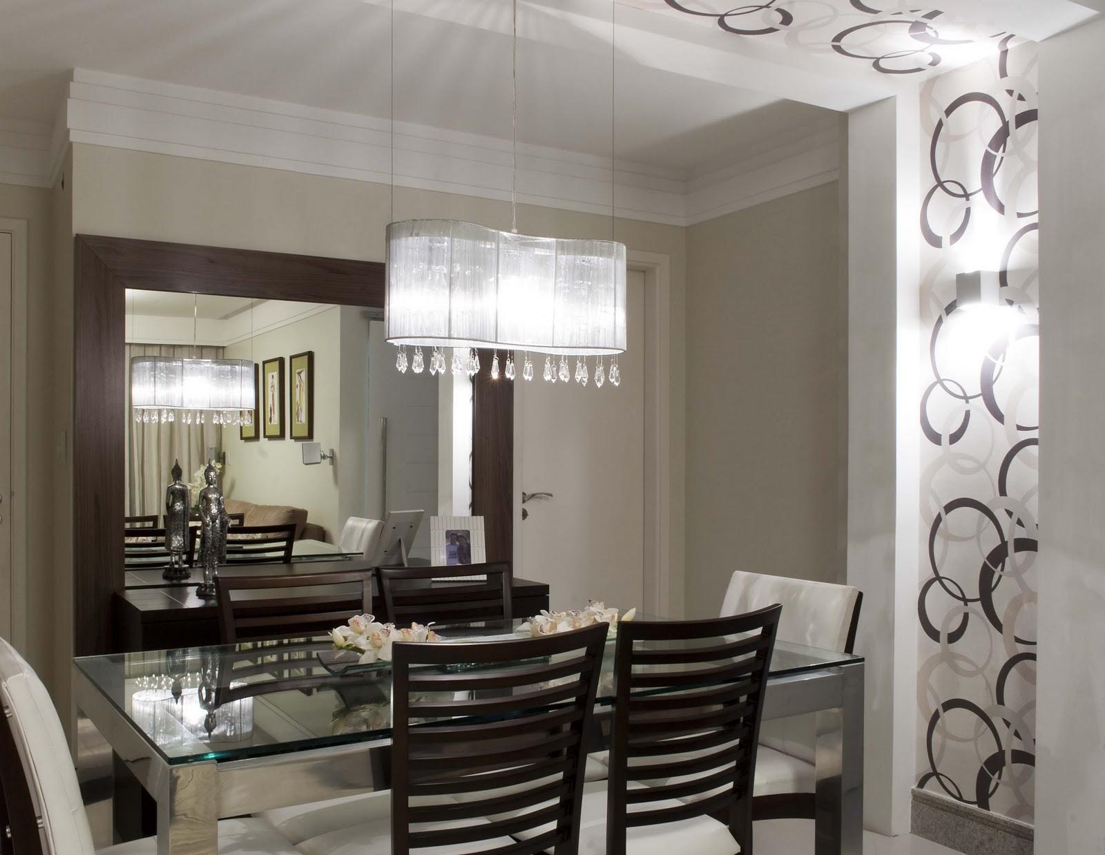 Decoracao Sala Pequena Com Espelho ~ Dicas para decorar uma sala de jantar pequena