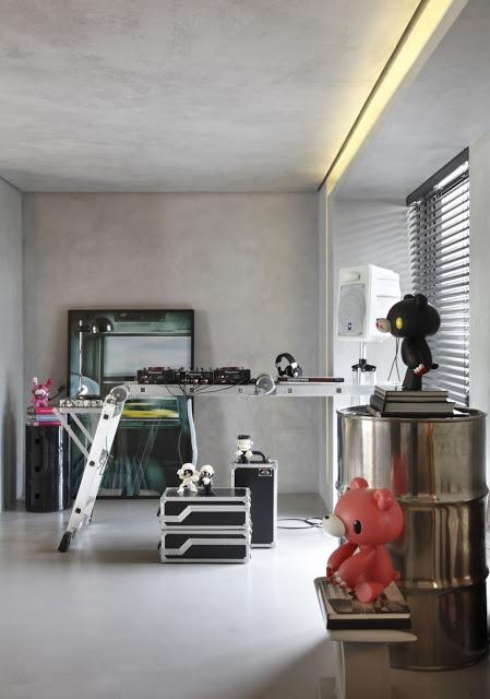 Apartamento masculino decorado 3