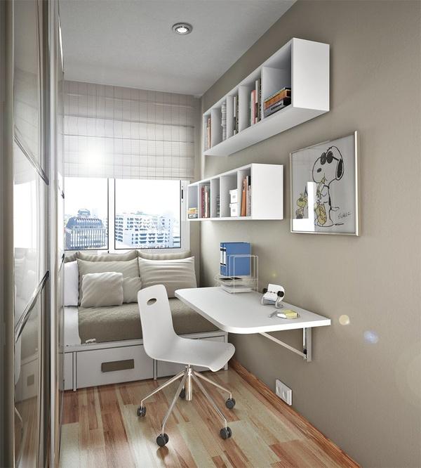organização para quartos pequenos 4