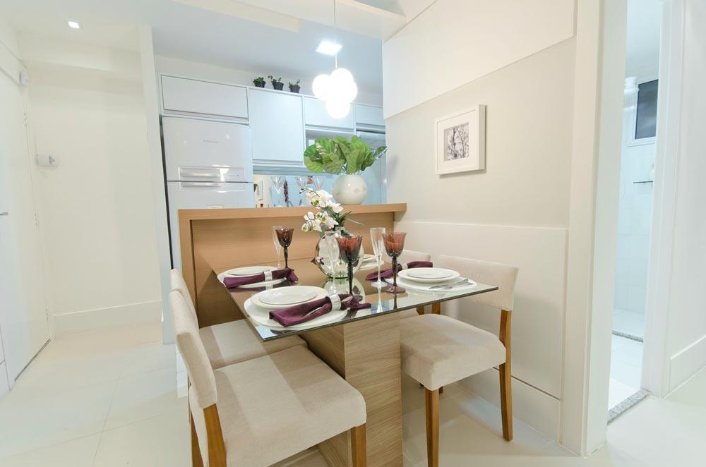 Dicas para decorar uma sala de jantar pequena