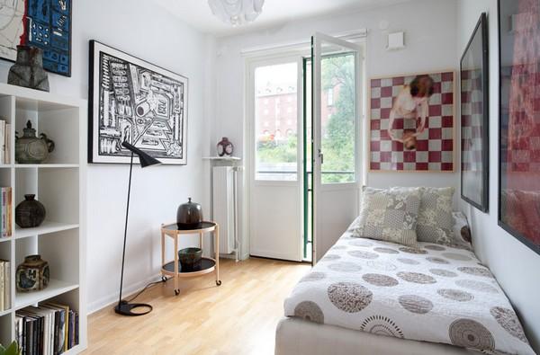 organização para quartos pequenos 7