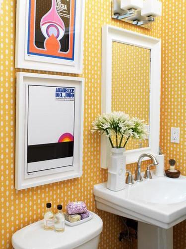 Banheiro amarelo 10