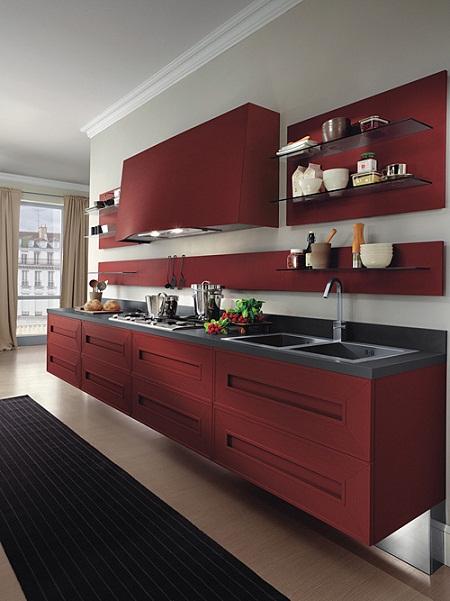 Vermelho na cozinha 9