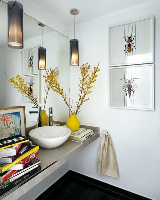 Banheiro amarelo 13