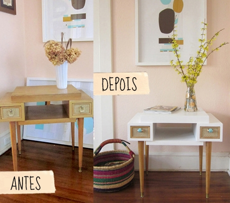 Reforma em móveis de madeira 2