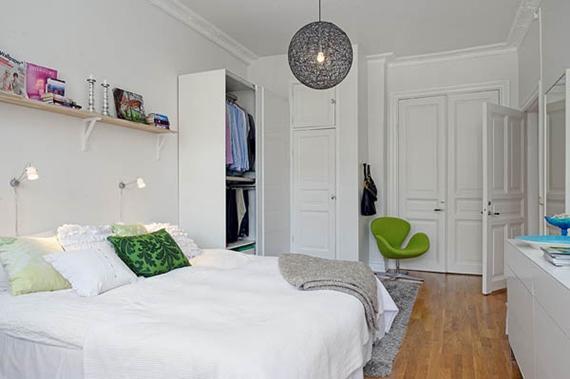 Decoração de quarto pequeno 4