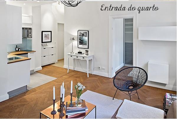 Decoração de apartamento pequeno 4