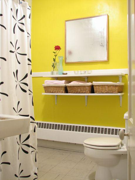 Banheiro amarelo 6